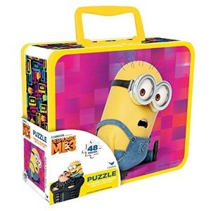 Despicable Me 3 24-Piece Jigsaw Puzzle in Tin